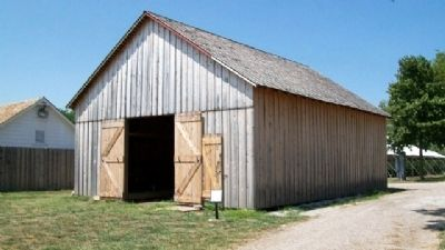 A Survivor Marker and Barn image. Click for full size.