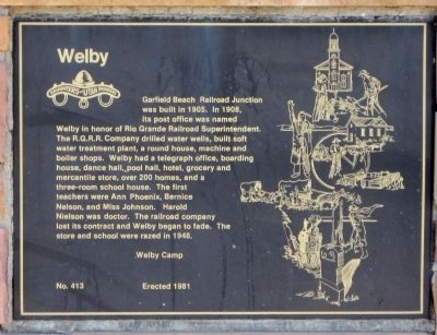 Welby Marker image. Click for full size.