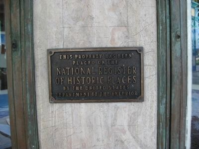 S. H. Kress and Co. Building NRHP Plaque image. Click for full size.