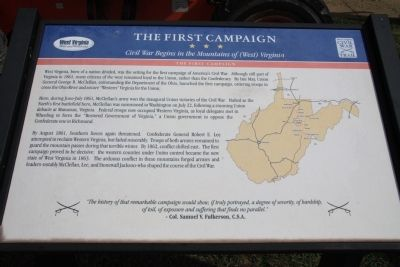 The First Campaign Marker image. Click for full size.