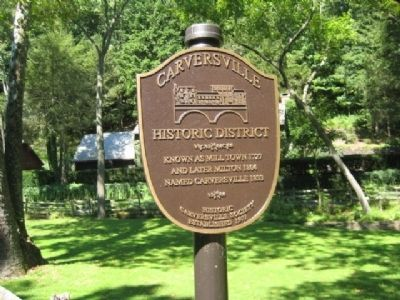 Carversville Marker image. Click for full size.