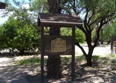 Agua Caliente Ranch and Hot Springs NRHP Plaque image. Click for full size.