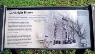Garthright House Marker image. Click for full size.