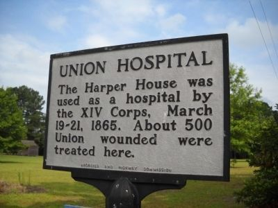Union Hospital Marker image. Click for full size.