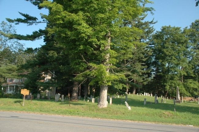 Riceville Cemetery & Marker image. Click for full size.