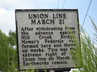 Union Line   March 21 Marker image. Click for full size.