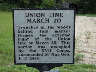 Union Line   March 20 Marker image. Click for full size.
