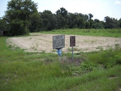 Marker on Bentonville Road image. Click for full size.