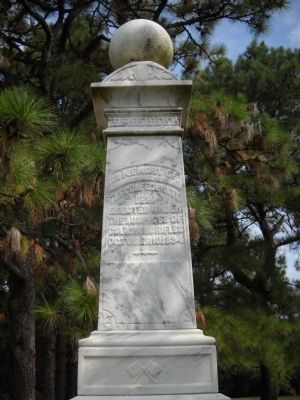 Confederate Dead Monument Marker image. Click for full size.