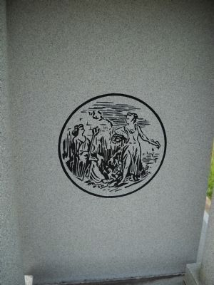 North Carolina Monument Detail image. Click for full size.