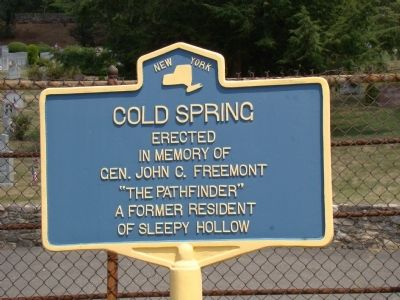 Cold Spring Marker image. Click for full size.