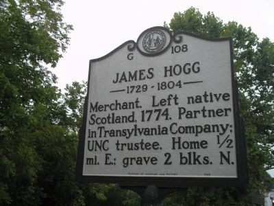 James Hogg Marker image. Click for full size.