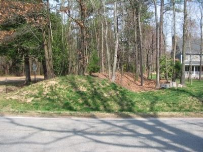 Earthwork Line North Side of Mill Road image. Click for full size.