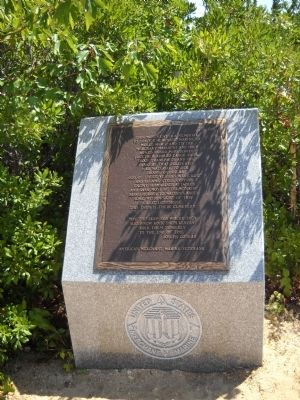 WW II Merchant Marine Marker image. Click for full size.