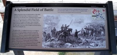 A Splendid Field of Battle Marker image. Click for full size.