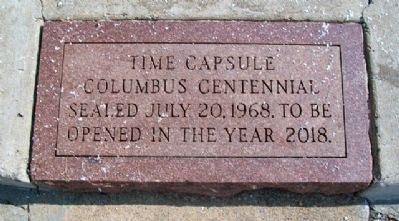 Nearby Cherokee County Time Capsule image. Click for full size.