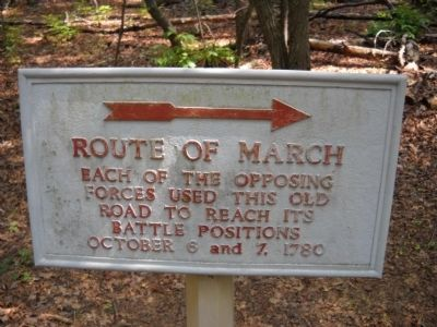 Route of March Marker image. Click for full size.