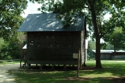 The Corn Crib and Marker image. Click for full size.