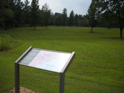 Marker on the Cowpens Battlefield image. Click for full size.