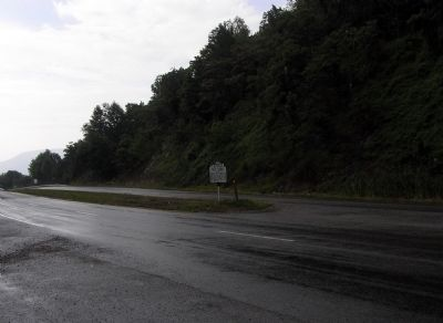 Wide view of the Giles County / Montgomery County Marker image. Click for full size.