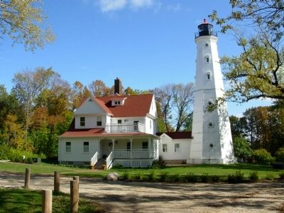 North Point Lighthouse image. Click for full size.