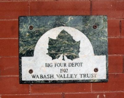 Wabash Trust Plaque image. Click for full size.