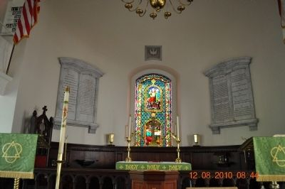ST Paul's Episcopal Church (inside church) image. Click for full size.