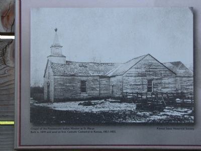 Potawatomi Pay Station & St. Marys MIssion Marker image. Click for full size.