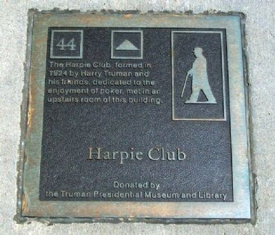Harpie Club Marker image. Click for full size.