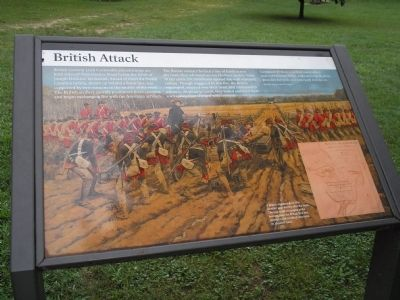 British Attack Marker image. Click for full size.