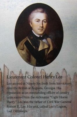 Lieutenant Colonel Henry Lee image. Click for full size.