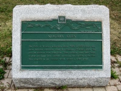Niagara Glen Marker image. Click for full size.
