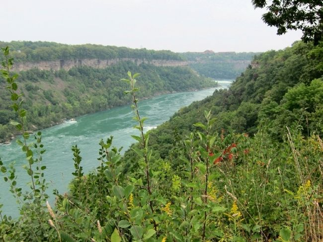 The Niagara River Gorge image. Click for full size.