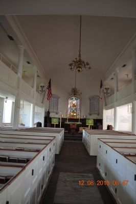 ST Paul's Episcopal Church (inside) image. Click for full size.