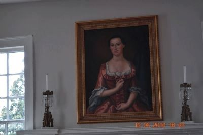 Penelope Barker (picture is hanging inside home) image. Click for full size.