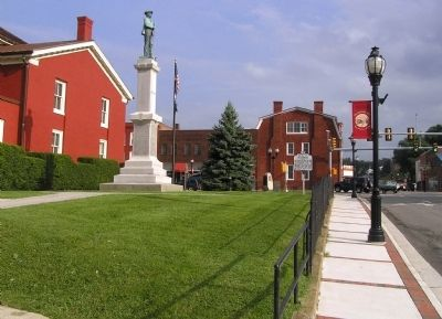 Wide view of the Pearisburg Marker image. Click for full size.
