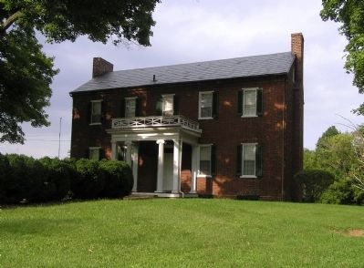 Andrew Johnston House (1829) image. Click for full size.