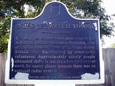 Cairo Skywatch Tower Marker image. Click for full size.