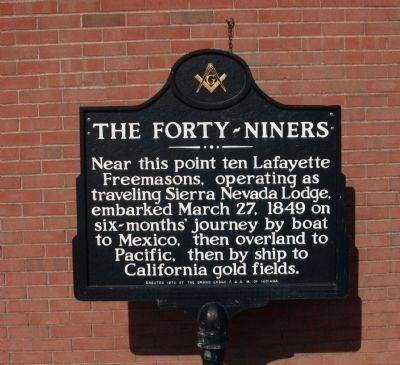 The Forty - Niners Marker image. Click for full size.