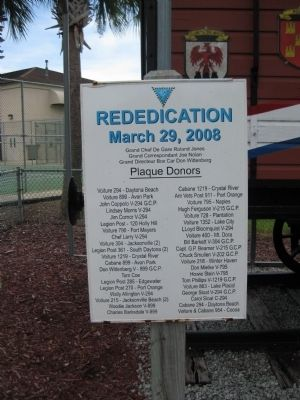 Merci Box Car Rededication Plaque image. Click for full size.