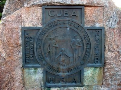 Upper Plaque - - Tippecanoe County War Memorial Marker image. Click for full size.