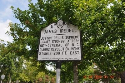 James Iredell Marker image. Click for full size.