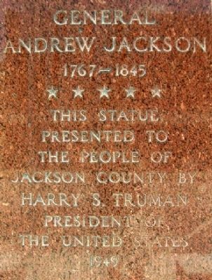 General Andrew Jackson Monument image. Click for full size.