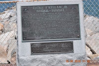 Lucius J. Kellam, Jr. Marker image. Click for full size.