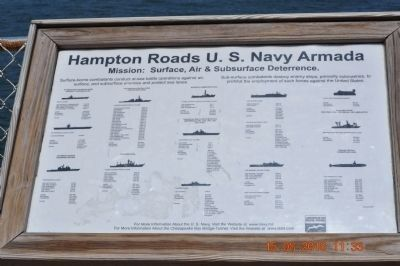 Hampton Roads U.S. Navy Armada image. Click for full size.