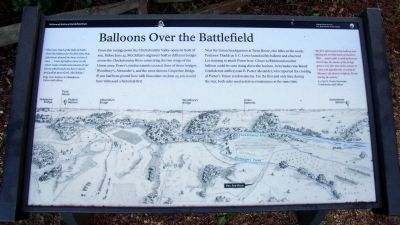 Balloons Over the Battlefield Marker image. Click for full size.