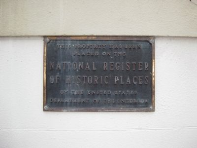 Merchants Bank Building NRHP Plaque image. Click for full size.