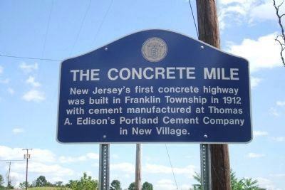 The Concrete Mile Marker image. Click for full size.