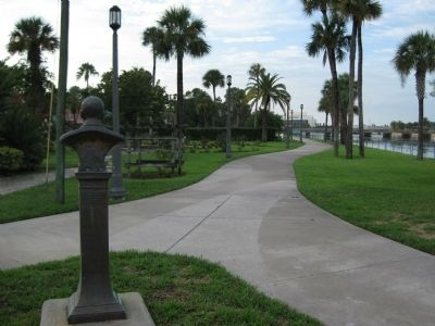"Riverfront Park - The ""Esplanade Burgoyne"" image. Click for full size."