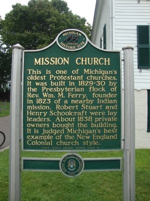 Mission Church Marker image. Click for full size.